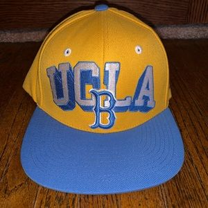 UCLA Bruins Snapback Hat Zephyr Yellow Blue